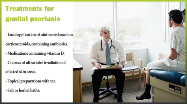 Treatments genital psoriasis